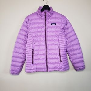 Patagonia down sweater full zip jacket nwot s